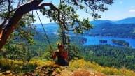 Secret Swing - Vancouver Island, Canada