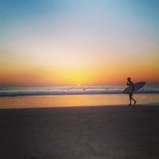 Nothing better than sunsets and surfers - Costa Rica