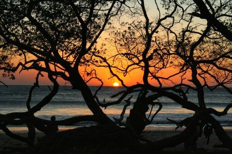 Costa Rican sunsets never disappoint