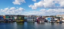 Houseboats at Fisherman's Wharf