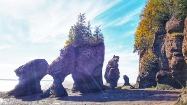 """Bay of Fundy """"Hopewell Rocks"""" New Brunswick"""